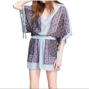 Free People Santa Cruz Kimono Sleeve Dress